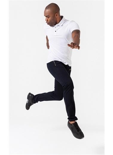 Boris Becker Çıtçıtlı Slim Fit Polo Yaka T-shirt Beyaz